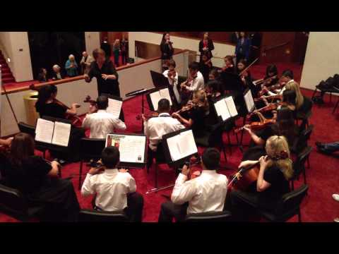 110812 Bondy Intermediate Orchestra at Jones Hall