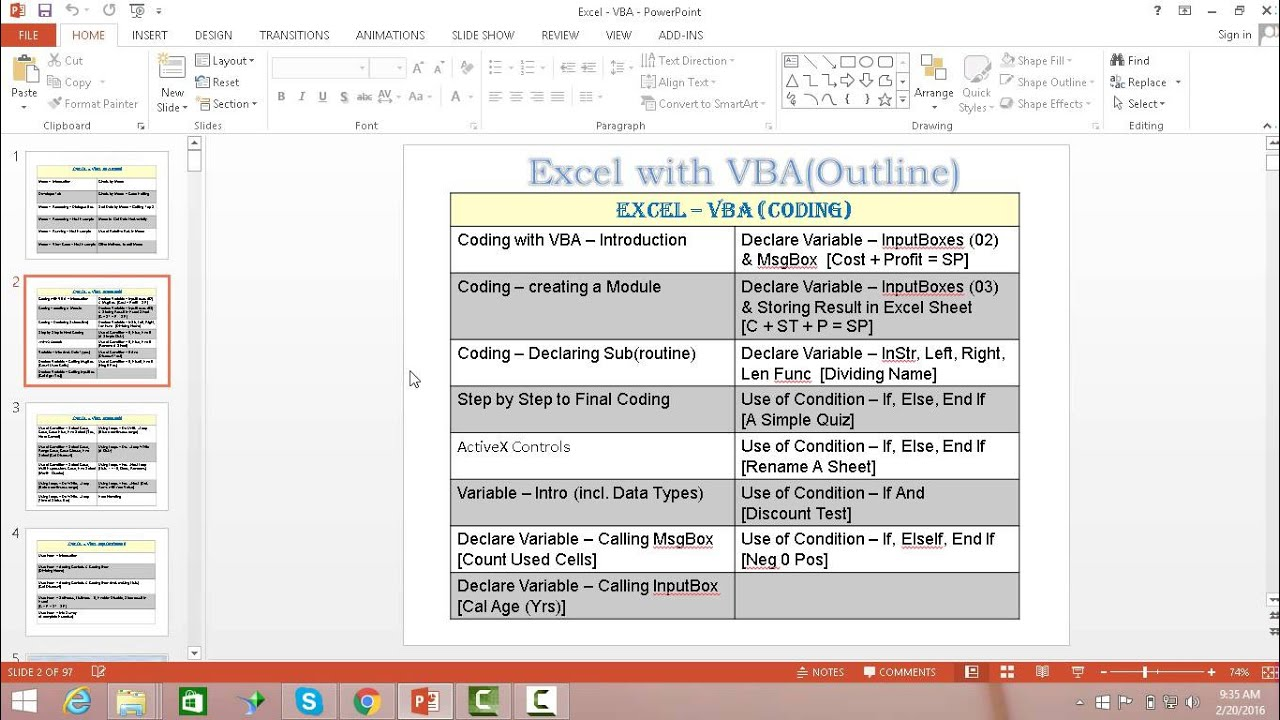 Intro Excel - Visual Basic for Applications (VBA) Training Video Urdu  Material    by Training Video