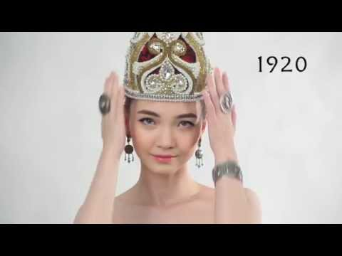 105 years of beautiful Kazakh girl