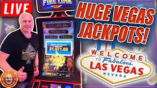 I ❤️ LAS VEGAS! Day #3 of THE BIGGEST JACKPOT WINS ON YOUTUBE! 😱 LIVE!