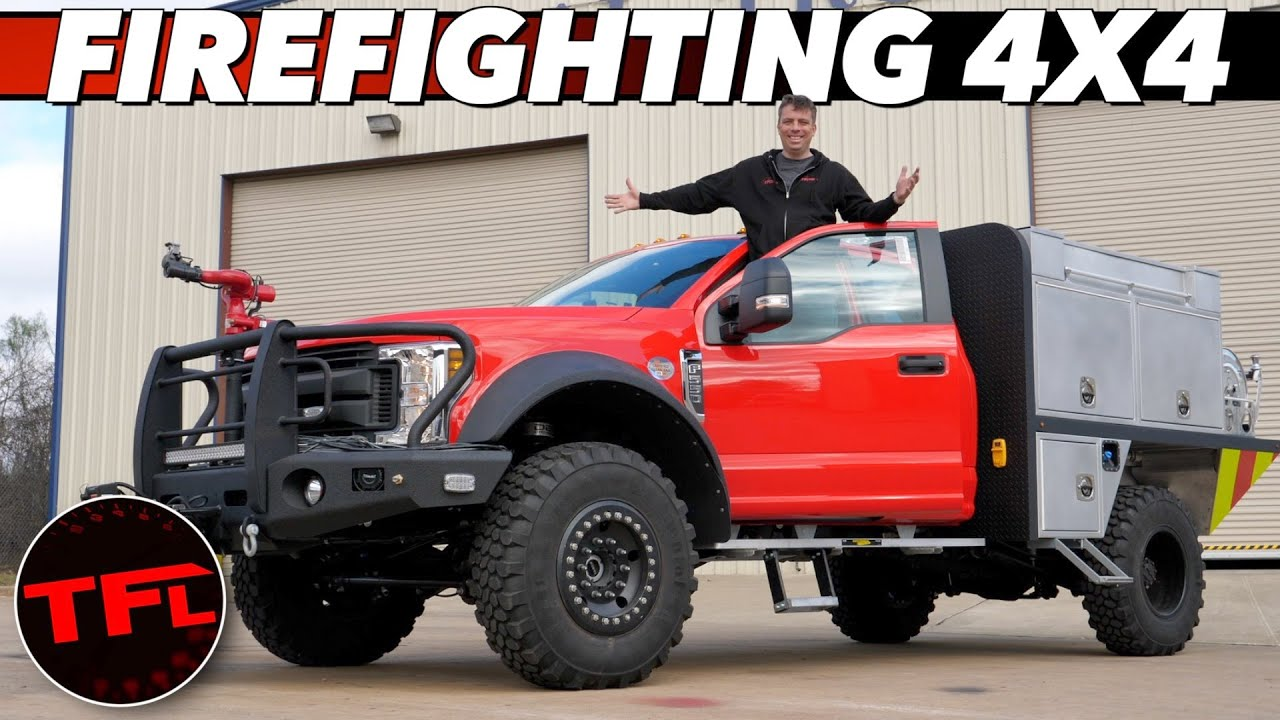 Build A Ford >> Here S How You Build A Ford F 550 Into A Firefighting Brush Truck