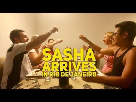 Aksana's Brother Sasha Arrives in Rio de Janeiro Brazil by HourPhilippines.com