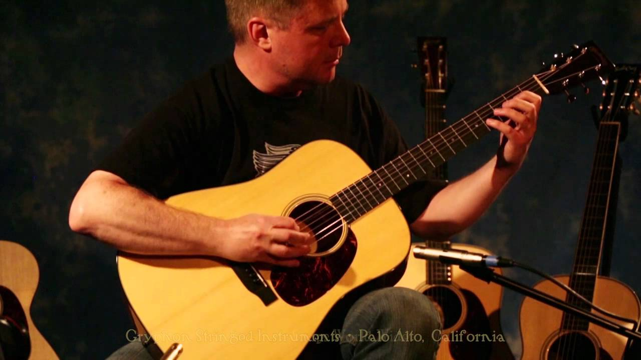 c f martin d 18 authentic 1937 dreadnought acoustic guitar demonstration by erik frykman youtube. Black Bedroom Furniture Sets. Home Design Ideas