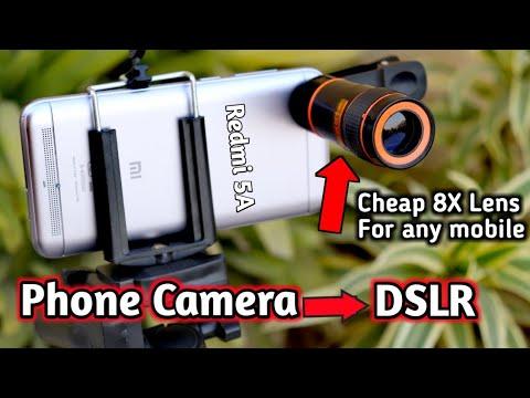 8X Mobile lens   DSLR like photos from your smartphone? DSLR LENS FOR SMARTPHONE