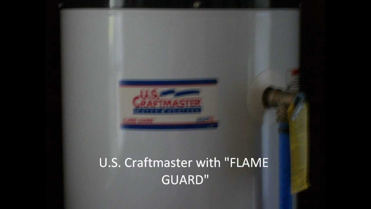 U S Craftmaster Water Heater Natural Gas Photos Only