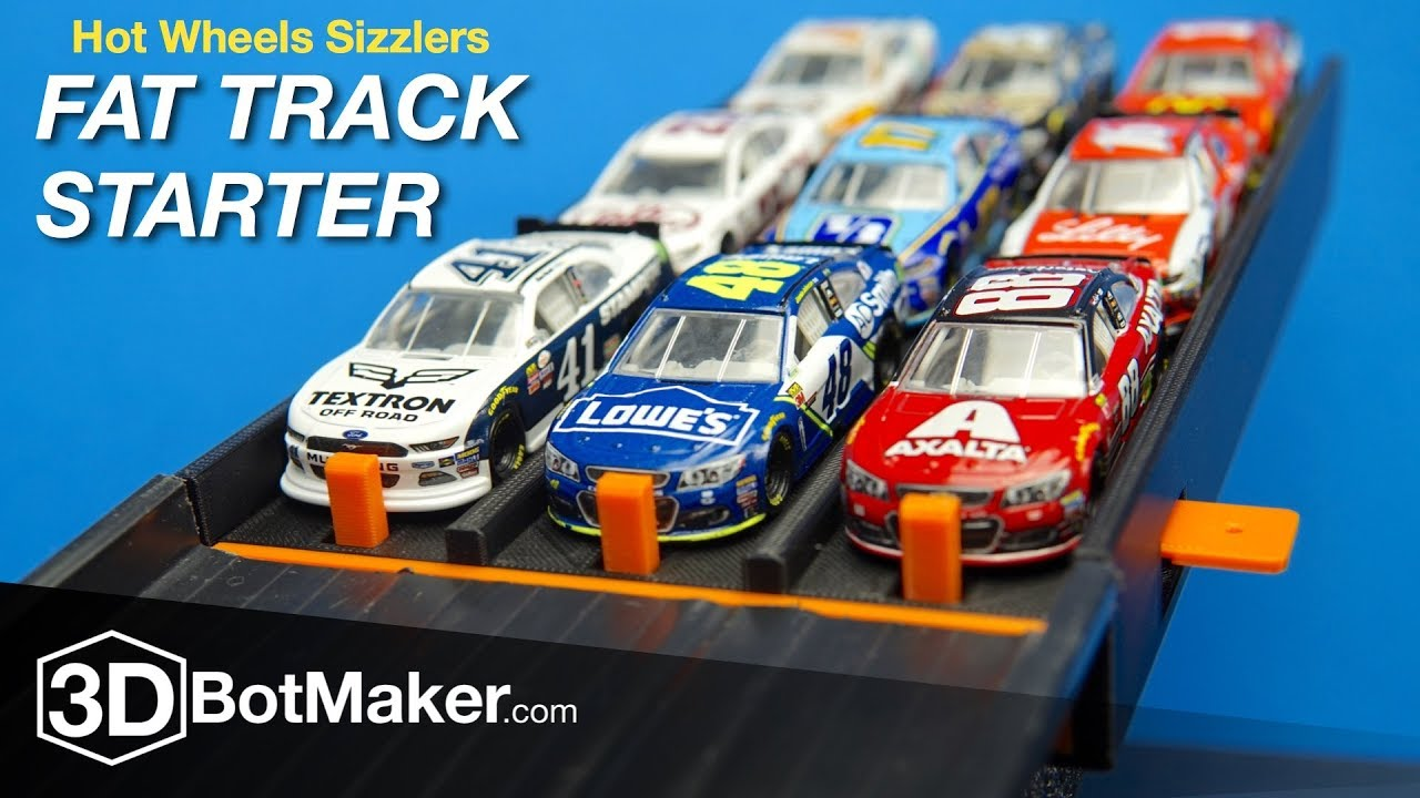 Sizzler Race Track And Cars