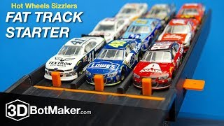 Hot Wheels Nascar Racing   Sizzlers Fat Track Start Gate By 3dbotmaker