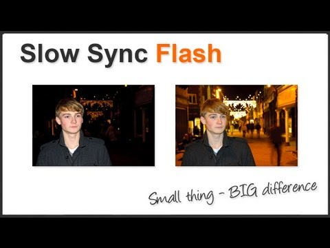 Photography Tips - Slow Sync Rear Curtain Flash