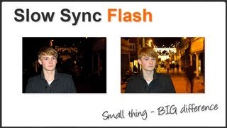 Photography Tips - Slow Sync Rear Curtain Flash Mp3