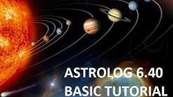 Astrolog 6 40 Basic Setup Tutorial