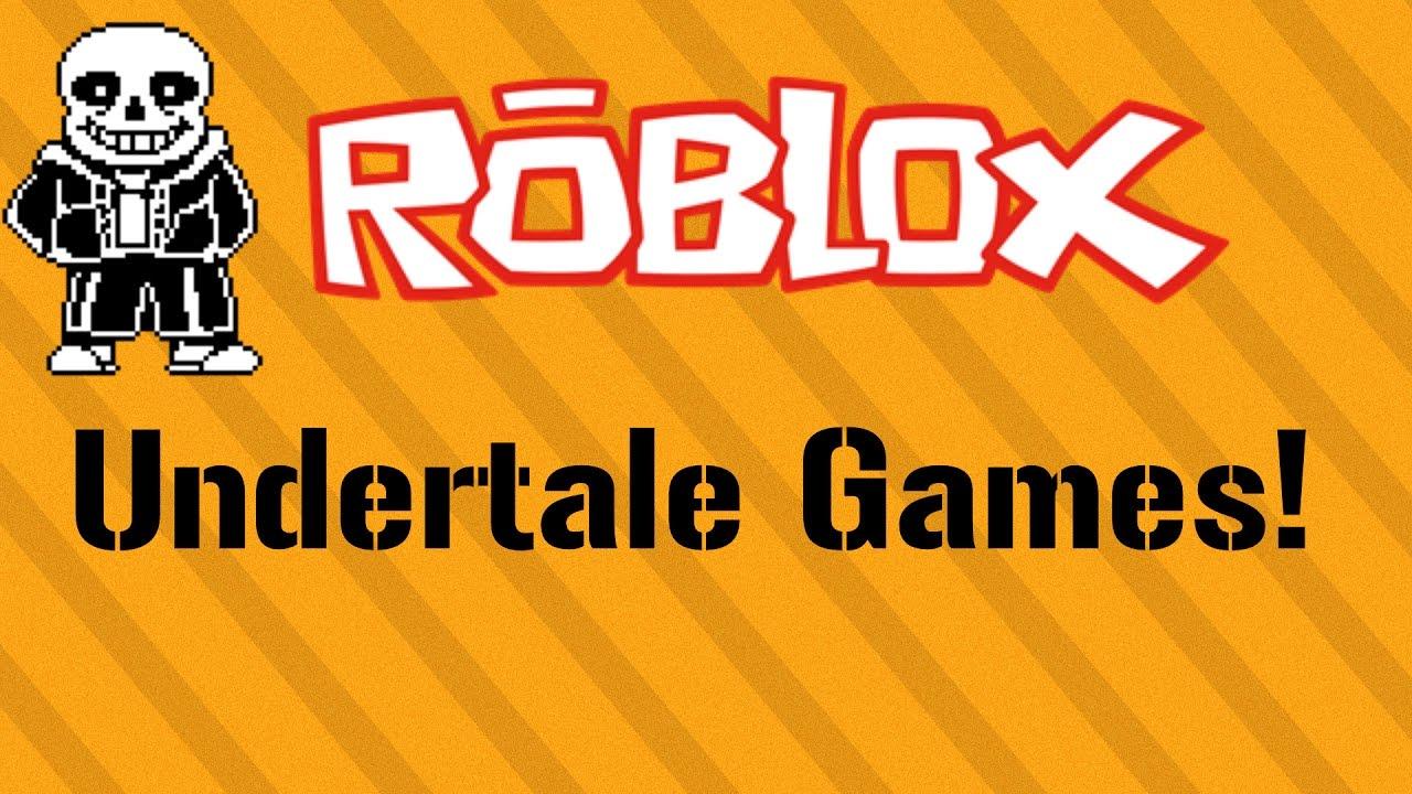 roblox games undertale