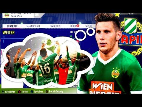 FIFA 18 : CHAMPIONS LEAGUE SIEGER AUS ÖSTERREICH !!! 🏆🔥 Rapid Wien Sprint To Glory