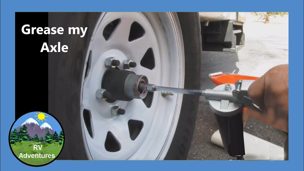 Dexter E-Z Lube Axle - How to Grease Casita Travel Trailer Wheel Bearings  by RV Adventures
