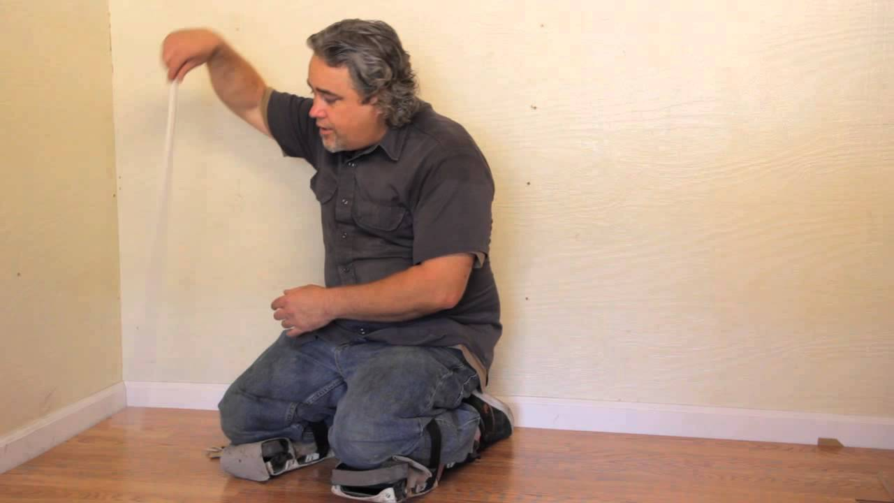 How To Install Laminate Flooring Without Removing Base Baseboard Heater Wiring Installation Repair Youtube