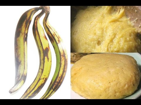 Recipe | How To Make Fresh Plantain FuFu | African