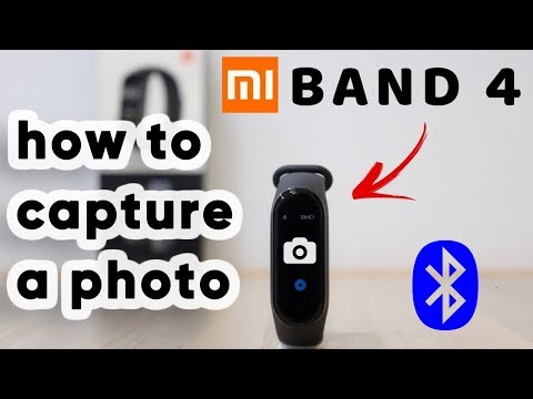 Take photo using Mi Band 4