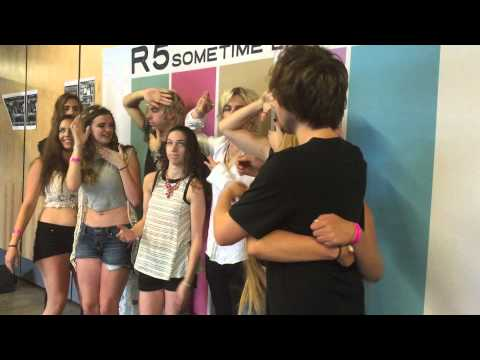 R5 meet and greet video july 12th 2015 by itsalynchthing meet and greet with r5 in pittsburgh pa m4hsunfo