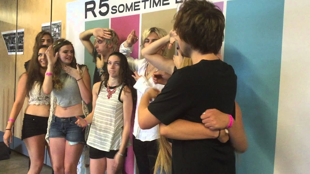 Meet and greet with r5 in pittsburgh pa youtube kristyandbryce Gallery