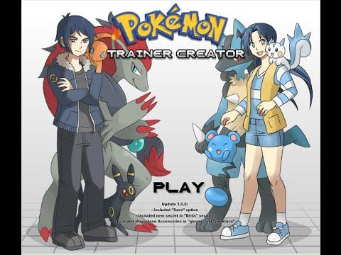 Design Your Pokemon Trainer