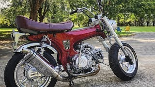 Download 190cc Honda Trail 70 Build | TOTAL RESTOMOD Mp3 and Videos