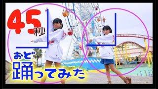 踊ってみた【MMD】45秒【なにができる?】カープ女子?双子コーデ ほの...
