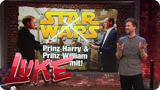 Prinz Harry und Prinz William bei Star Wars