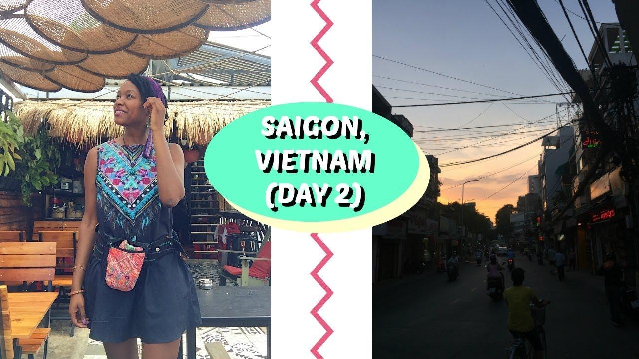 TRAVEL SAIGON WITH ME | Saigon Day 2 | charlycheer