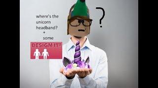 WHERE'S THEE UNICORN HEADBAND?! || Roblox Design It! || Creative Coco