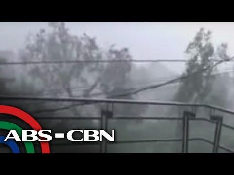 Bandila: Quezon City at Rizal province, inulan ng yelo