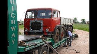 """Missione compiuta ... nuova casa """" italiana """" per il vecchio camion FIAT 690"""