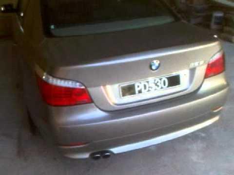 BMW I YouTube - 2010 bmw 525i