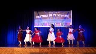 Devotional Malayalam  group dance  2013