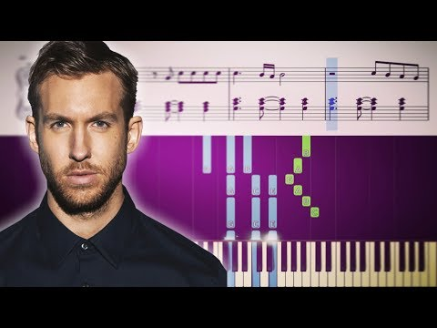 Calvin Harris ft. Pharrell Williams, Katy Perry & Big Sean - Feels - Piano Tutorial