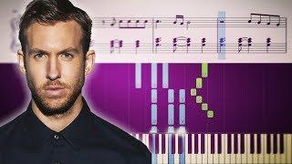 Calvin Harris ft. Pharrell Williams, Katy Perry & Big Sean - Feels - Piano Tutorial