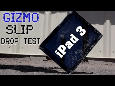 Drop Test : iPad (3rd Gen)