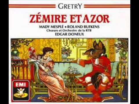 Gretry   Zemire et Azor Pantomime