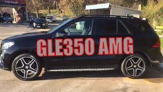 Аренда авто в Черногории. Mercedes GLE350 AMG 2016, automat.
