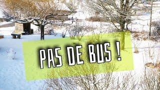 🌈  Pas de bus ! Merci la neige..   #Emmaanyvlog   #435