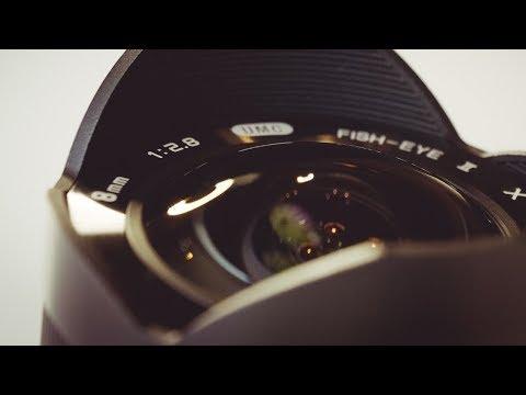 FISHEYE FUJI!! Rokinon 8mm 2 8 Fisheye II, real-world review