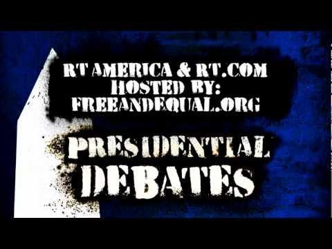 RT Presents Final US Third-Party Presidential Debate - November 5
