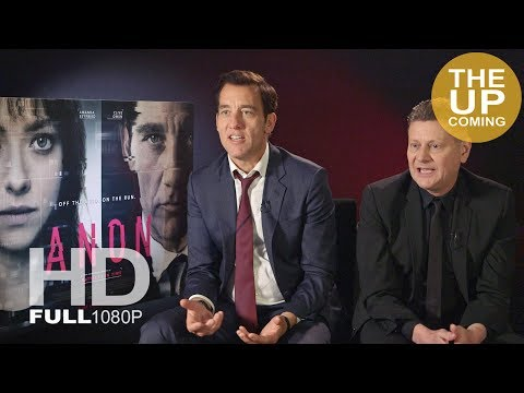 Clive Owen and Andrew Niccol  on Anon, privacy and technology issues, Cambridge Analytica