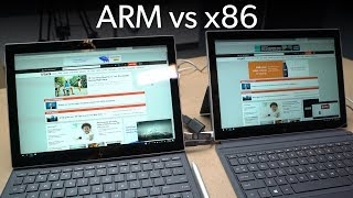 x86 vs. ARM: Two identical tablets fight it out for Windows 10 supremacy