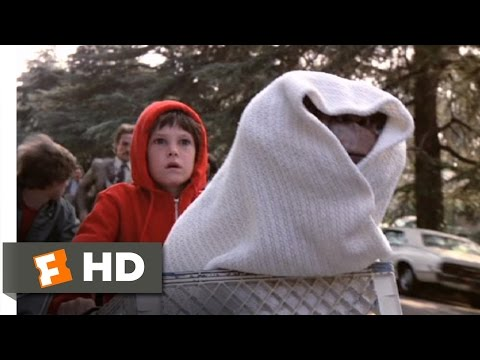 Ride in the Sky - E.T.: The Extra-Terrestrial (9/10) Movie CLIP (1982) HD Travel Video