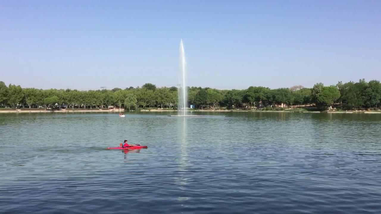 Lago Casa de Campo Madrid - YouTube
