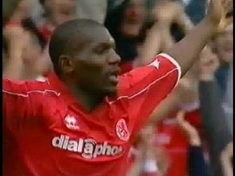 Middlesbrough v Bolton Wanderers 2002-03 GEREMI GOAL