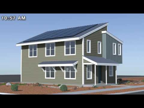 Passive Solar Design Technical Animation