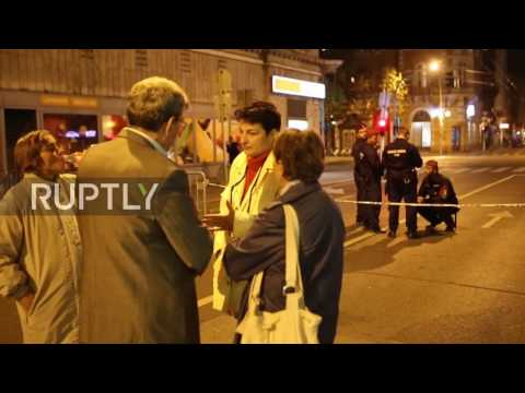 Hungary: Police on high alert in Budapest after explosion