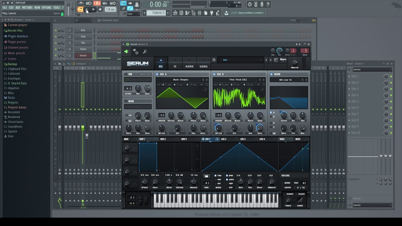 How to design bass patches for UK Bass/Bassline in Serum