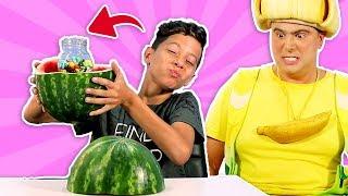 فوزي موزي وتوتي –الملبس بالجرة- jar in a watermelon