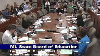 michigan-state-board-of-education-meeting-for-september-14-2016-session-part-2